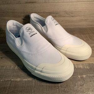 Adidas Nizza RF Slip On Shoes White / Off White